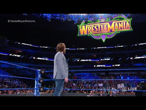NoDQ Live: Full 3/20/18 WWE Smackdown Live review and highlights (Daniel Bryan's epic speech)