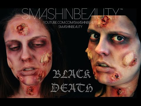 The Black Death Plague SFX Halloween Makeup Tutorial