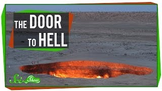 In this episode of SciShow, Hank talks about a crater in Turkmenistan that has been on fire for decades and has earned itself the...
