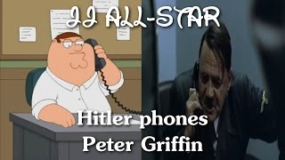 Hitler phones Peter Griffin