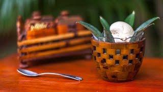 Sorvete de coco queimado