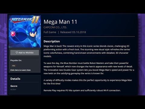 Mega Man 11 Release Date Possibly Leaked by Singapore PSN Page! (видео)