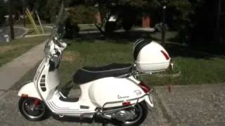 9. 2009/2010 Vespa GTS 300 Super Scooter overview