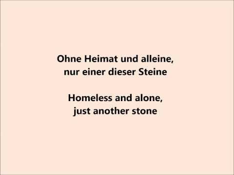 Video Einer dieser Steine — Sido ft. Mark Forster (English & German lyrics) download in MP3, 3GP, MP4, WEBM, AVI, FLV January 2017