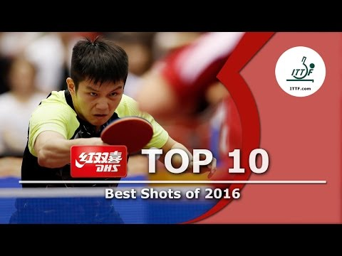 ITTF Top 10 Table Tennis Points of 2016, presented by DHS