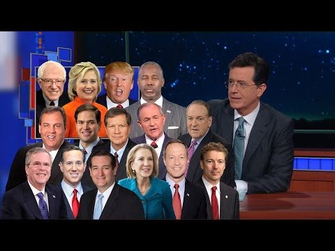 Stephen Colbert on the Iowa Caucuses
