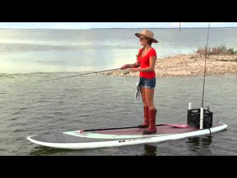 Stand Up With Sam - Paddle Board Fishing