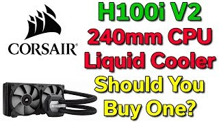 "Buy Corsair H100i 240mm --- @Amazon http://amzn.to/2tpSbXc --- @NewEgg http://bit.ly/2t1bd6PBuy Corsair H110i 280mm --- @Amazon http://amzn.to/2t1lfom --- @NewEgg http://bit.ly/2sHzUIAPlaylist of all CPU Liquid Cooler Reviews - http://bit.ly/2tdnadNNote: The 280mm version (H110i) is the better choice if your case supports both sizes, however the 240mm version (H100i V2) works well if you cannot or do not want to update your case.Ryzen 7 1700 --- @Amazon http://amzn.to/2tVQbYA --- @NewEgg http://bit.ly/2tpXm9lRyzen 7 1700X --- @Amazon http://amzn.to/2tpSCAO --- @NewEgg http://bit.ly/2t1jkA5Ryzen 7 1800X --- @Amazon http://amzn.to/2t1s2yo --- @NewEgg http://bit.ly/2v2JjJaIntel i7-7700K --- @Amazon http://amzn.to/2v33nek --- @NewEgg http://bit.ly/2tHyOMJIntel i7-7820X --- @Amazon http://amzn.to/2t1eyCG --- @NewEgg http://bit.ly/2ukv6K0AMD Threadripper is coming in August 2017 and will also be a good CPU to use this liquid cooler on, assuming Corsair offers a mounting bracket for it.If you have an older CPU such as i7-2600K or FX-8300, or a Ryzen 5 or i5 ""K"" CPU, then consider a 120mm liquid cooler such as these:Corsair H55 120mm Quiet --- @Amazon http://amzn.to/2tq0VMI --- @NewEgg http://bit.ly/2tTQfJTCorsair H60 120mm Performance --- @Amazon http://amzn.to/2tqu9Lz --- @NewEgg http://bit.ly/2v2lvVv------------------------------------------------------------ --- Computer Deals in the US ---Amazon.com - http://amzn.to/2b4teIpNewEgg.com - http://bit.ly/29wXbSJeBAY.com - http://ebay.to/29cBqoM --- Computer Deals Outside of the US ---Amazon.ca - http://amzn.to/2bdT6GjAmazon.co.uk - http://amzn.to/2bdXRvCAmazon.de - http://amzn.to/2bdSK2kAmazon.fr - http://amzn.to/2b4LMKyAmazon.es - http://amzn.to/2bdTt3vAmazon.in - http://amzn.to/2nw4e3z --- Discounted Digital Software & Games ---Kinguin.net - http://bit.ly/2df8Zc9G2A.com - http://bit.ly/2dt9XnY --- Other Links ---Twitch (Live Streams) - http://bit.ly/2qSPlwwBackBlaze (Online Backup) - http://bit.ly/2ceOAm4Patreon (Support Me!) - http://bit.ly/29g0PUdTwitter (Follow Me!) - http://bit.ly/2ilZIW7"
