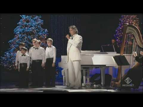 , title : 'Andrea Bocelli - My Christmas - Astro del Ciel (Silent Night) Kodak theatre Los Angeles 2009'