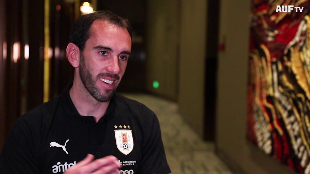 Diego Godín - Jugador con más presencias en la Celeste