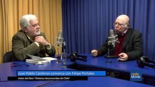 Juan Pablo Cárdenas conversa con el sociólogo Felipe Portales