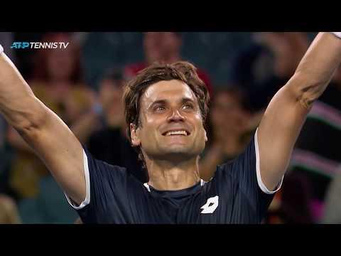 UNREAL David Ferrer shots in stunning win v Zverev | Miami Open 2019