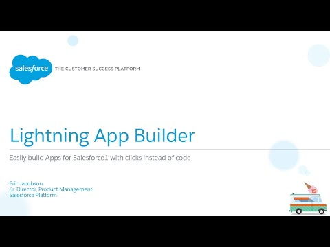 Salesforce1 Platform - Lightning App Builder