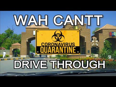 Driving through Wah Cantt, Pakistan during lockdown | Quarantine | Covid-19
