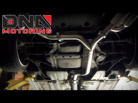 DNA Motoring 04-08 Acura TSX Catback Exhaust Installation