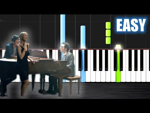 A Great Big World, Christina Aguilera - Say Something - EASY Piano Tutorial By PlutaX - Synthesia
