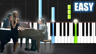 A Great Big World, Christina Aguilera - Say Something - EASY Piano Tutorial  Ноты и М�Д� (MIDI) може
