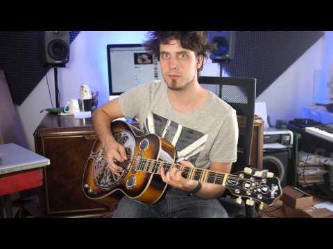 Resonator Gitarre kleiner Jam I 303