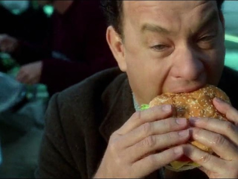 """The Terminal (2004) """"Quarters and Burger King scene"""" HQ"""