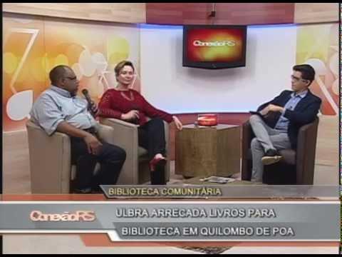 Ulbra arrecada livros para biblioteca em Quilombo de Porto Alegre