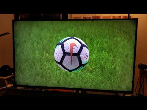 FIFA 18 Demo PS4 Pro 4K HDR Built In Calibration & HDR Slider