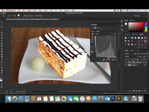 31- PhotoShop CC|  adjustment layers  curve