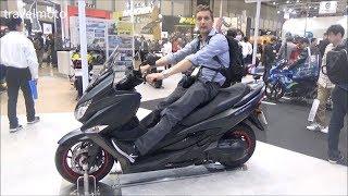 10. The 2018 Suzuki Burgman 400cc scooter - tall rider 190cm (6,2ft)