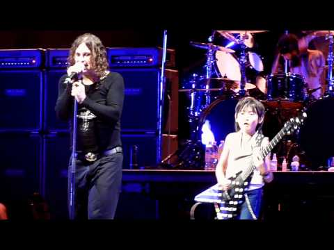 10 Year old jams with Ozzy