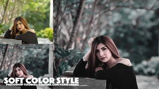 Video Photoshop Tutorial Soft Color Tone | Vintage Style MP3, 3GP, MP4, WEBM, AVI, FLV Mei 2019