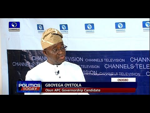 Osun Governorship Race: Payment Of Salary Arrears Not Political - Oyetola |Politics Today|