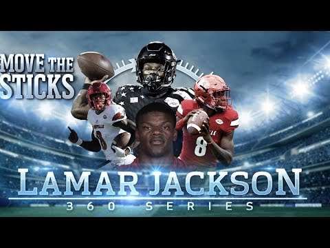 Video: Lamar Jackson's Draft Profile & High School Highlights: Mike Vick 2.0 | Move the Sticks 360 Series