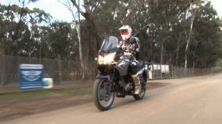 7. MXTV Bike Review - Suzuki 2011 V-Strom 650 DL