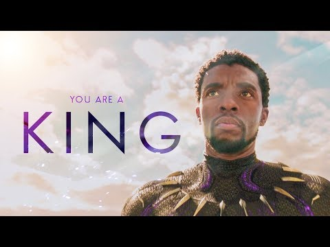 (Marvel) You are a King - Black Panther Tribute