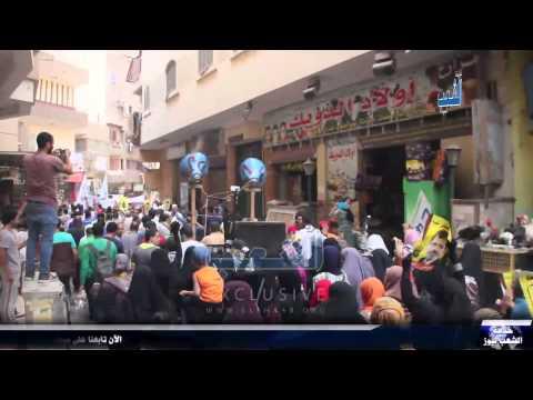 """أحرار الجيزة يعلون الهتاف """"الله أكبر الله أكبر.. يسقط يسقط حكم العسكر"""""""