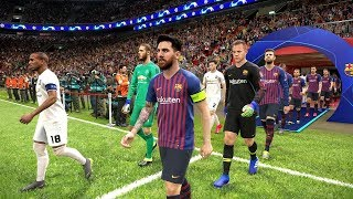 Barcelona vs Manchester United -  UEFA Champions League 2019 Gameplay