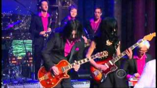 "Wanda Jackson w/Jack White - ""Shakin' All Over"" 1/20 Letterman (TheAudioPerv.com)"