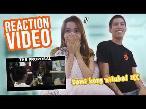 THE PROPOSAL REACTION VIDEO