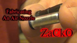 In this video I fabricated a G36 SHS V3 air nozzle to be for an Mp5 Echo1 V2.