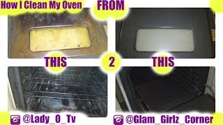 Here's how you can clean your oven naturally with a little vinegar, baking soda, and good ol' elbow grease! What's the alternative...