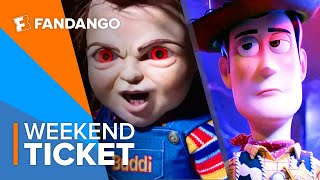In Theaters Now: Toy Story 4, Child's Play, Anna | Weekend Ticket by  Movieclips Trailers