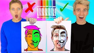 3 Marker Challenge Revealing Game Master Suspects!! (Carter Sharer, Rebecca Zamolo, Morgz, $10,000)