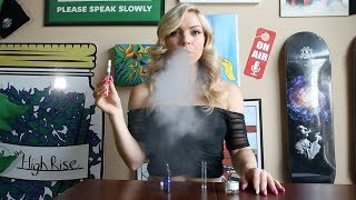 ECap Tech Ceramic CL1 & CL2 Vape Cart Review w/ Kristin Rayl!! by HighRise TV