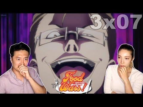 Start of A Rebellion - Shokugeki No Soma Third Plate Episode 7 REACTION!!