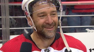 Justin Williams tearfully breaks down Game 7 win by NHL