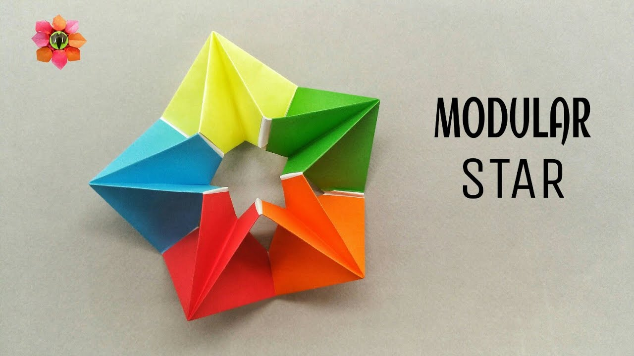 How to make a paper flower envelope useful craft and origami modular star diy origami tutorial mightylinksfo