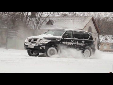 Тест Nissan Patrol 2015