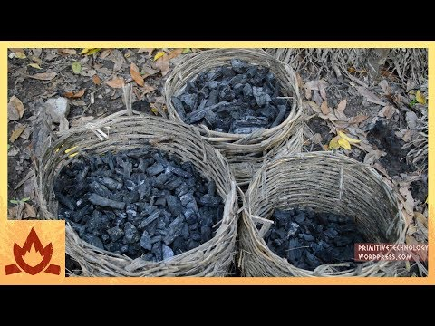 Survivalist Demonstrates How To Make Charcoal
