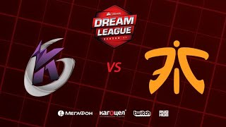 Keen Gaming vs Fnatic, DreamLeague Season 11 Major, bo3, game 2 [Casper & GodHunt]