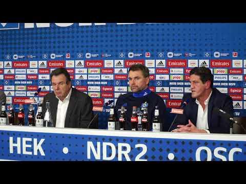 HSV stellt Bernd Hollerbach als neuen Trainer vor