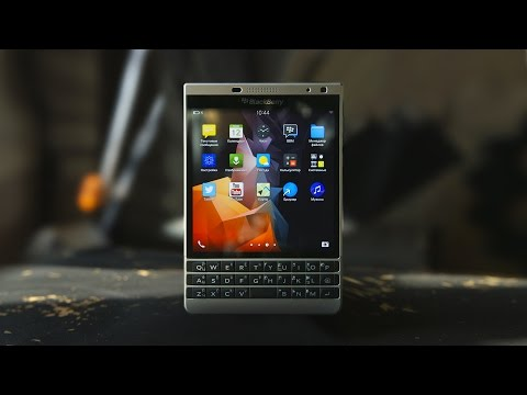 Обзор BlackBerry Passport Silver Edition